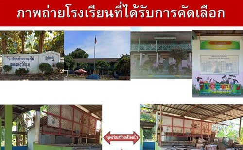 CSR activity for Ban Nong Phai School (Yod Rat Bamrung), Chonburi Province